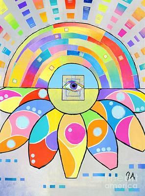 Painting - Soul Gate by Jeremy Aiyadurai