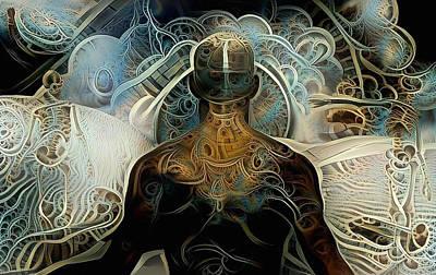 Surrealism Digital Art - Soul journey by Bruce Rolff