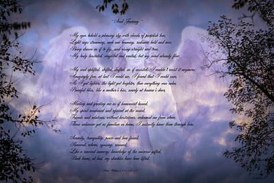 Mixed Media - Soul Journey - Poem by Brian Wallace
