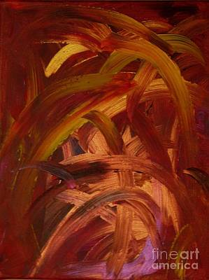 Gloss Varnish Painting - Soul Links by Shelly Wiseberg