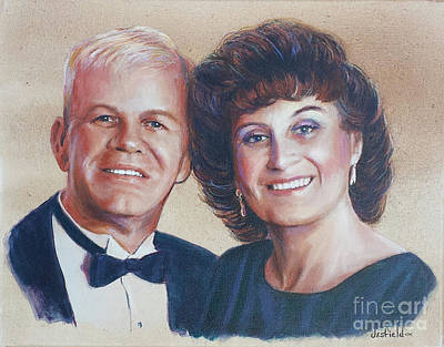 Painting - Soul Mates by LeRoy Jesfield