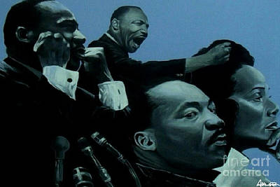 Painting - Soul Of A Leader by Addonis Parker