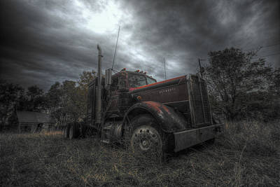 Photograph - Soul Of A Trucker by Aaron J Groen