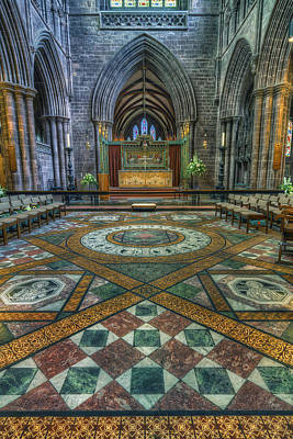 Medieval Temple Photograph - Soul Of My Saviour by Ian Mitchell