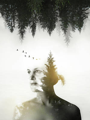 Art Print featuring the photograph Soul Of Nature by Nicklas Gustafsson