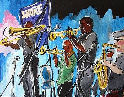 Painting - Soul Of New Orleans by Kerin Beard