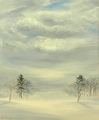 Soul Of Winter Art Print by Deserie Waryck