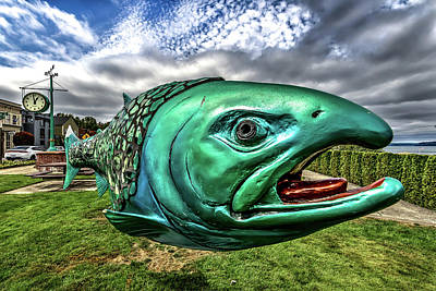 Soul Salmon In Hdr Art Print