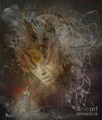 Digital Art - Soul Searching by Ali Oppy