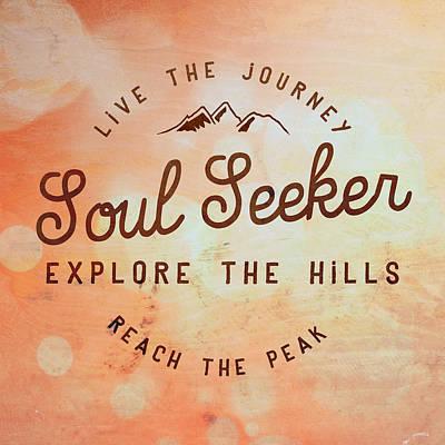 Seeker Mixed Media - Soul Seeker 1 by Brandi Fitzgerald