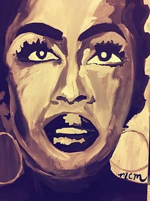Soul Sister  Art Print by Miriam Moran