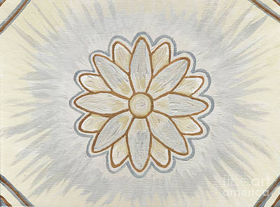 Chakra Painting - Soul Star Flower by Julia Stubbe