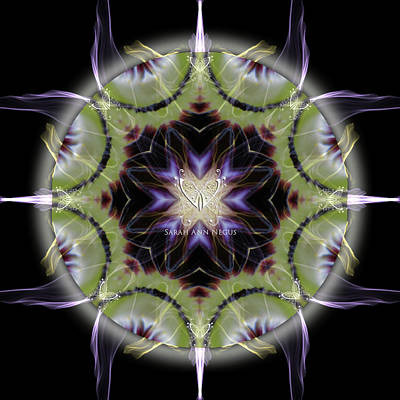 Digital Art - Soul Star Shaman by Alicia Kent