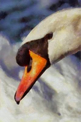 Soul Swan By Pierre Blanchard Art Print