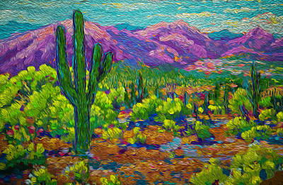Painting - Soul Valley  by Michael Gross