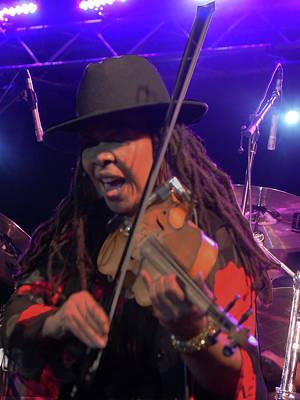 Photograph - Karen Briggs - Soulchestral Groove by Leon deVose
