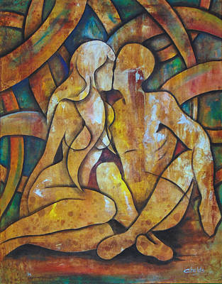 Painting - Soulmates by Christopher Childs