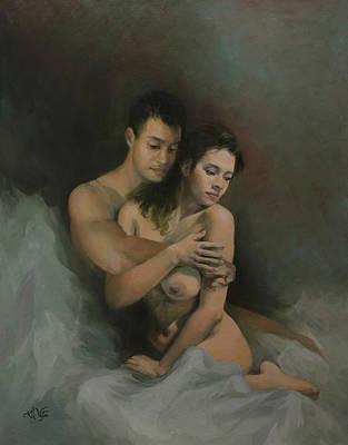 Painting - Soulmates by Liz Viztes