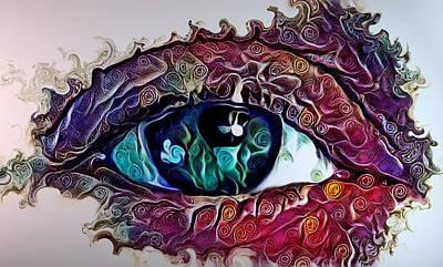 Souls Window Art Print