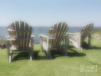 Photograph - Sound Chairs by Linda Mesibov