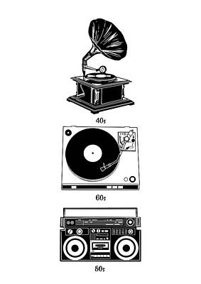 Sound Evolution Art Print