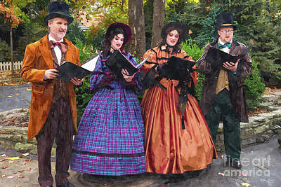 Photograph - Sound Of Carolers by Jennifer White