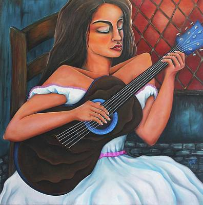 Painting - Sound Of My Soul by Janice Aponte