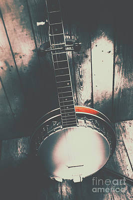 Banjo Photograph - Sound Of The West by Jorgo Photography - Wall Art Gallery