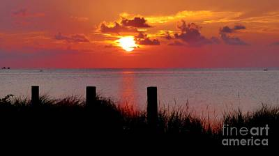 Photograph - Sound Sunset Hd by Jean Wright