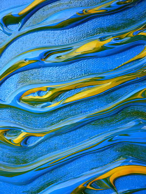 Sound Waves Art Print by Gregory Young