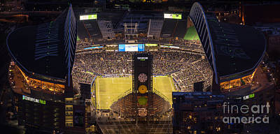 Photograph - Sounders Match At Century Field by Mike Reid