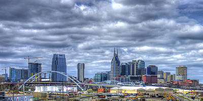 Photograph - Sounds Like Country Music Nashville Tennessee Music City Art by Reid Callaway