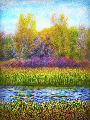 Digital Art - Sounds Of Stillness by Joel Bruce Wallach