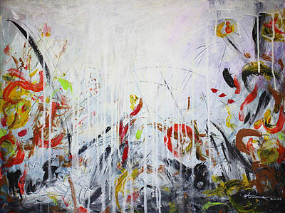 Painting - Sounds Of The Autumn by Kume Bryant