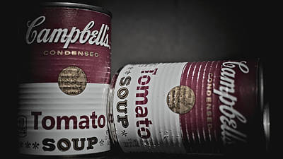 Photograph - Soup Can by Philip A Swiderski Jr