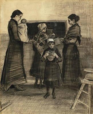 Job Commercial Painting - Soup Distribution In A Public Soup Kitchen, 1883 01 by Vincent Van Gogh