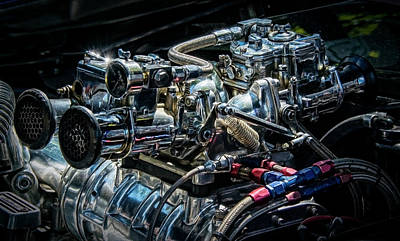 Photograph - Souped-up Engine by Phil Cardamone
