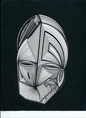 Sour Drawing - Sour Jini Alien by Dennis Caruso