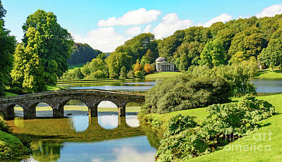 Photograph - Stourhead by Colin Rayner