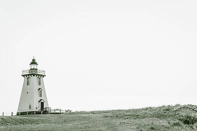 Photograph - Souris East Lighthouse by Chris Bordeleau