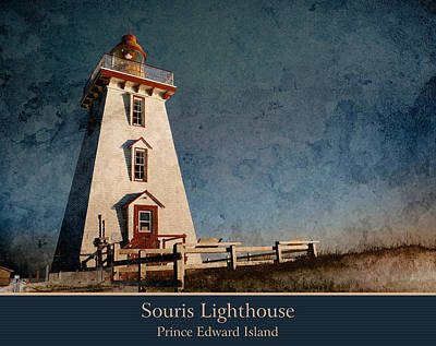 Photograph - Souris Lighthouse 2 by WB Johnston