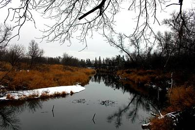 Souris Photograph - Souris River, Saskatchewan by Tessy Bender