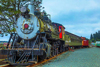 Sourthern Pacific Lines Number 90 Art Print by Garry Gay