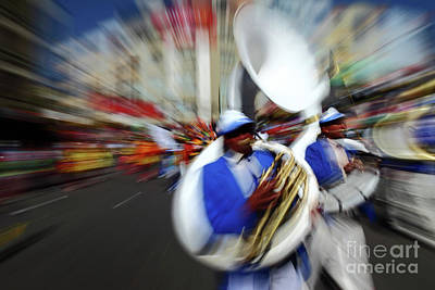 Marching Band Photograph - Sousaphone Energy by James Brunker