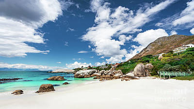 Photograph - South African Beach Landscape by Anna Om