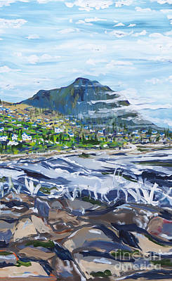 Painting - South African Coastline Part Three by Patrick Grills