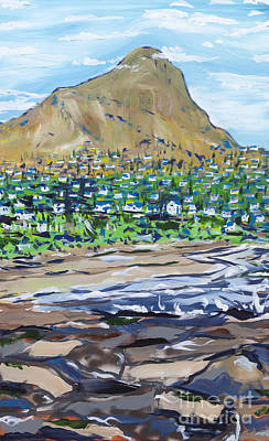 Painting - South African Coastline Part Two by Patrick Grills