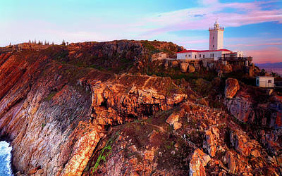 Photograph - South African Lighthouse by Manie Van Der Hoven