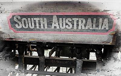 Photograph - South Australia Sign by Dorothy Berry-Lound