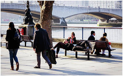 Photograph - South Bank Views by Stewart Marsden